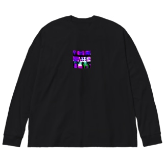 faceface_2 Big Silhouette Long Sleeve T-Shirt