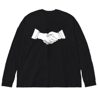 UNISON Big silhouette long sleeve T-shirts
