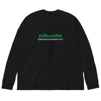 yabeyabe Big silhouette long sleeve T-shirts