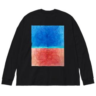 pattern 2020-1 Big silhouette long sleeve T-shirts