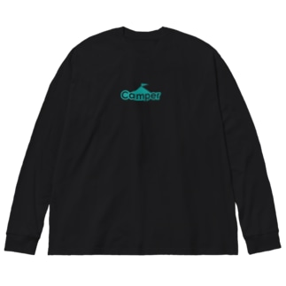 Camper by ソトリスト Big silhouette long sleeve T-shirts