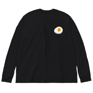 kimilemonのkimilemon smile Big silhouette long sleeve T-shirts