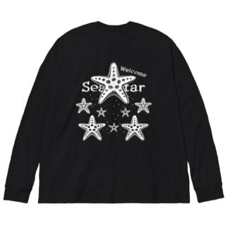 表_CT139 Welcome!ヒトデ*B Big silhouette long sleeve T-shirts