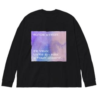 nuance Big Silhouette Long Sleeve T-Shirt