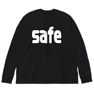 safe/out Big silhouette long sleeve T-shirts