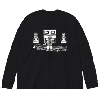 Rapper's House Big silhouette long sleeve T-shirts