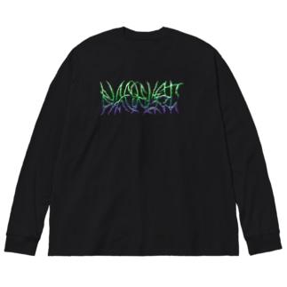 BLACKLIST (クローム) Big silhouette long sleeve T-shirts
