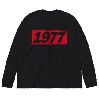 1977 Big silhouette long sleeve T-shirts