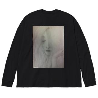 ruphooのfemme fatale Big silhouette long sleeve T-shirts