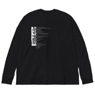 ZAKYARAソースコードT Big silhouette long sleeve T-shirts