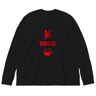 MIBFLIX  Big silhouette long sleeve T-shirts