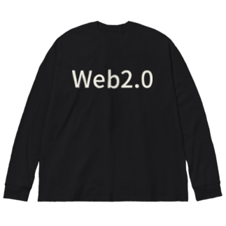 Web 2.0 Big silhouette long sleeve T-shirts