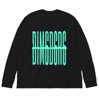 DIM6D6R6 mg/DB_46 Big Silhouette Long Sleeve T-Shirt