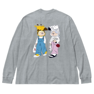 That's life Big silhouette long sleeve T-shirts