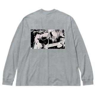 Tommyアーティスト写真(顔なし) Big silhouette long sleeve T-shirts