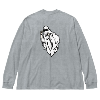 ghost Big silhouette long sleeve T-shirts