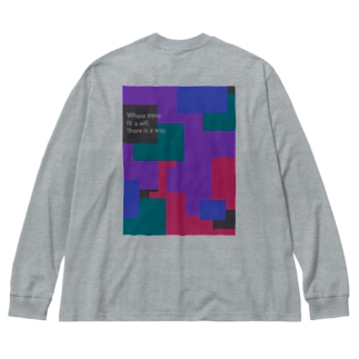proud Big silhouette long sleeve T-shirts