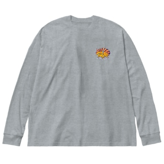 ホムラスベヨコエビ Big silhouette long sleeve T-shirts