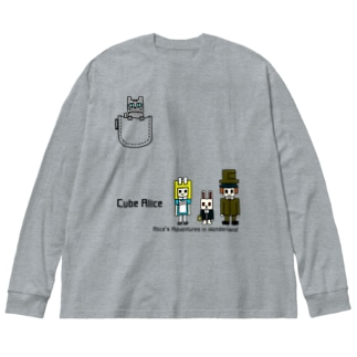 CUBE アリス ver.2 Big silhouette long sleeve T-shirts