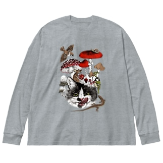 my favorite things Big silhouette long sleeve T-shirts