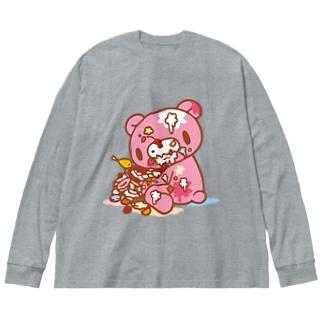 【各20点限定】いたずらぐまのグル〜ミ〜(#8) Big Long Sleeve T-shirt