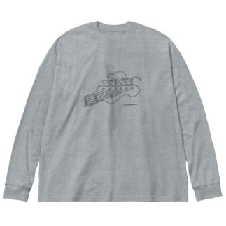 Utopia anone Big silhouette long sleeve T-shirts