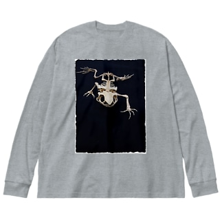 君の声が聴きたい Big silhouette long sleeve T-shirts