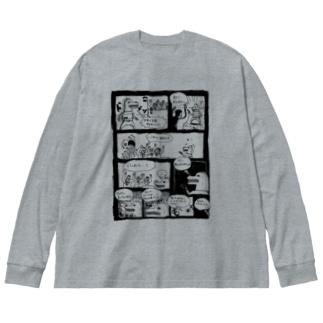 UMAYARO! Big silhouette long sleeve T-shirts