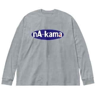 ナカーマ・シリーズ Big silhouette long sleeve T-shirts