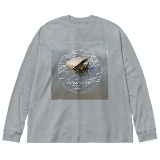誰か僕を呼んだ? Big silhouette long sleeve T-shirts
