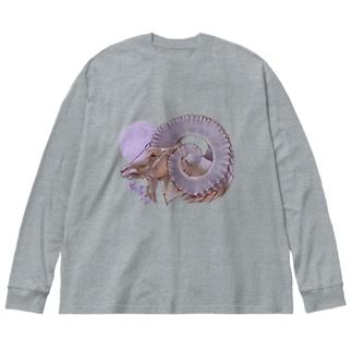 ビッグホーン Big silhouette long sleeve T-shirts