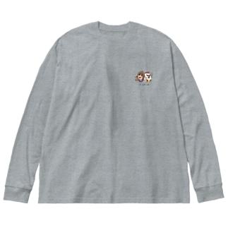 kocco&sd and soi のコラボ Big silhouette long sleeve T-shirts