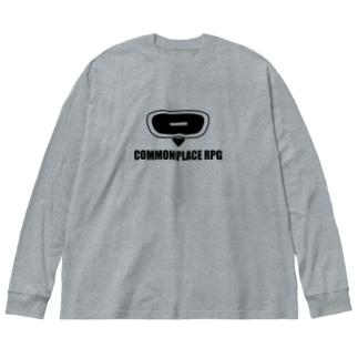 TYONA Big silhouette long sleeve T-shirts