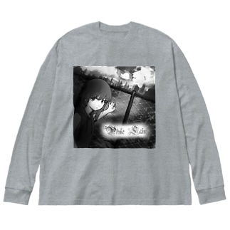 suicidal Big silhouette long sleeve T-shirts