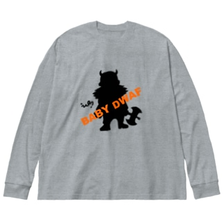 BABY DWAF Big silhouette long sleeve T-shirts