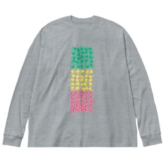 テガタ・ラスタ Big silhouette long sleeve T-shirts