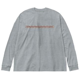 TuneBsideのOPEN Big silhouette long sleeve T-shirts