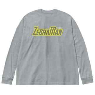 ZebraMan (及川.ver) Big silhouette long sleeve T-shirts