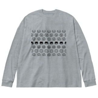モノモノグラム Big silhouette long sleeve T-shirts