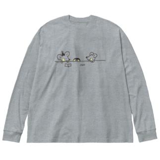 最近どう? Big Silhouette Long Sleeve T-Shirt