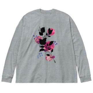 LEAF2 Big Silhouette Long Sleeve T-Shirt