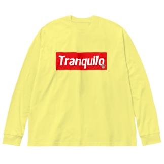 トランキーロ・シリーズ Big silhouette long sleeve T-shirts
