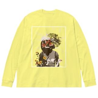 コラージュシャツvol.2 Big silhouette long sleeve T-shirts