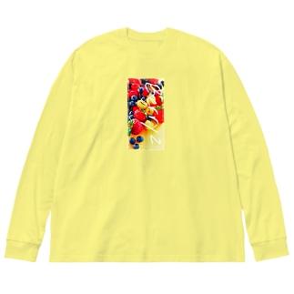 はじけるベリーBerryz Big silhouette long sleeve T-shirts