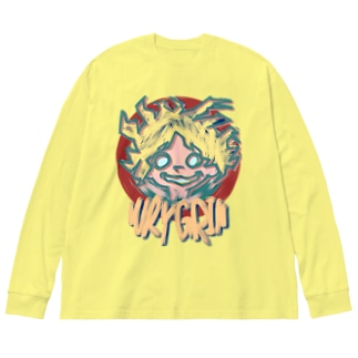 WRYGRIN Big silhouette long sleeve T-shirts