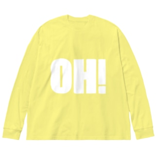 OH! Big silhouette long sleeve T-shirts