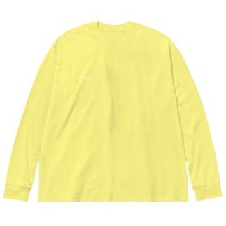 キミだけ Big silhouette long sleeve T-shirts