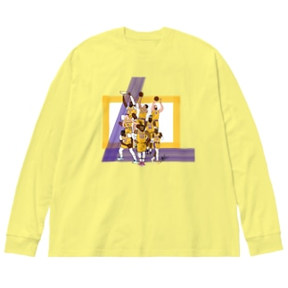 the lakeshow Big silhouette long sleeve T-shirts