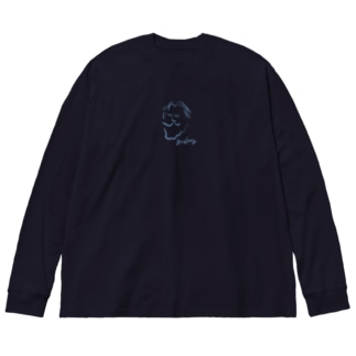 ブラームス Brahms Big silhouette long sleeve T-shirts