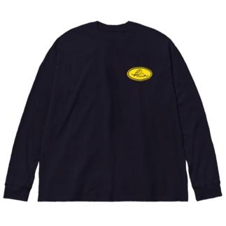 hiraサークル Big silhouette long sleeve T-shirts